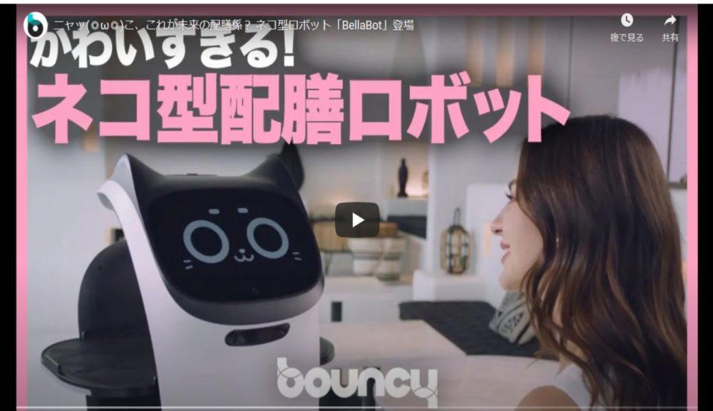 【DX支援】対話ができるネコ型配膳ロボットが登場!?